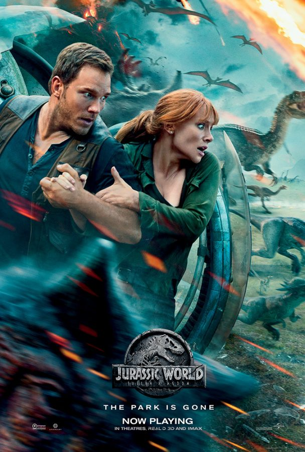 """Jurassic World: Fallen Kingdom"" is a periodically pleasurable, dino-sized disarray"