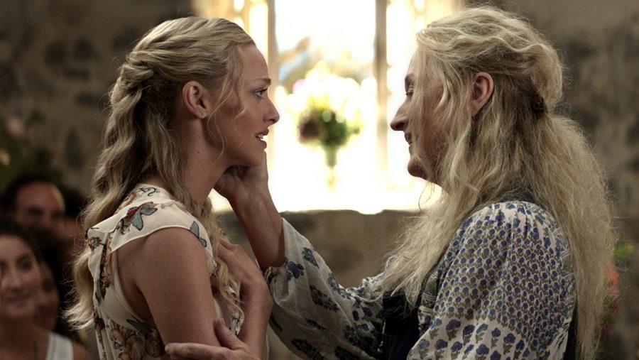 """Amanda Seyfried and Meryl Streep in """"Mamma Mia! Here We Go Again."""""""