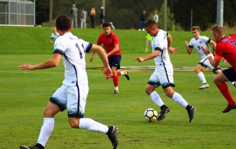 Men's soccer tops Duquesne 2-0 in tough match