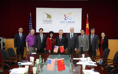 Oakland Administration strengthens international relations with Chinese universities