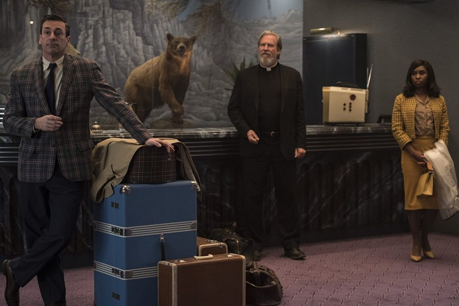 """""""Bad Times at the El Royale"""" — a morbid mystery that's a little messed up"""