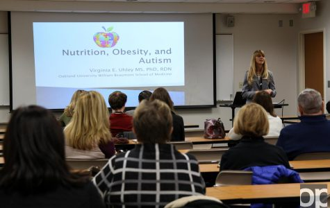 OUCARES presentation focuses on obesity, nutrition and autism