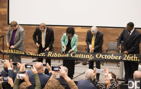 Oakland Center expansion celebrate with ribbon cutting ceremony