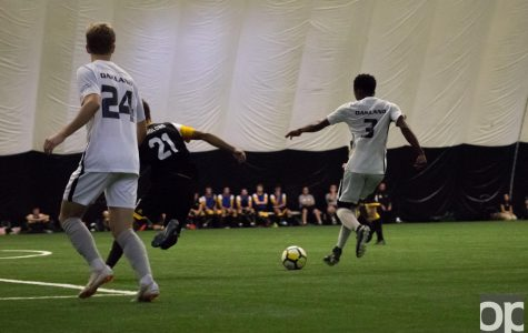 Men's soccer defeats Northern Kentucky 3-1 on homecoming weekend