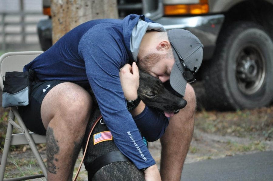 SVOU fundraises to sponsor a support dog for local veteran