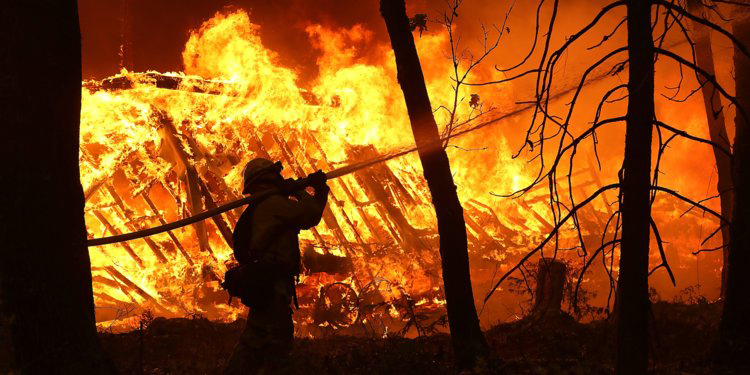 Community reacts to California wildfires