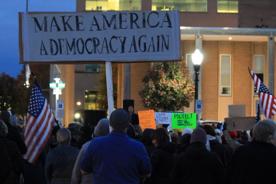 Sessions' resignation spark protests across the US
