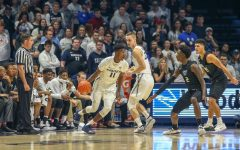 Men's Basketball falls to Xavier 73-63