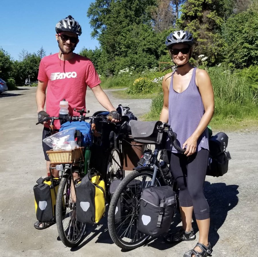 OU alum embarks on two-year bicycle trip through the Americas