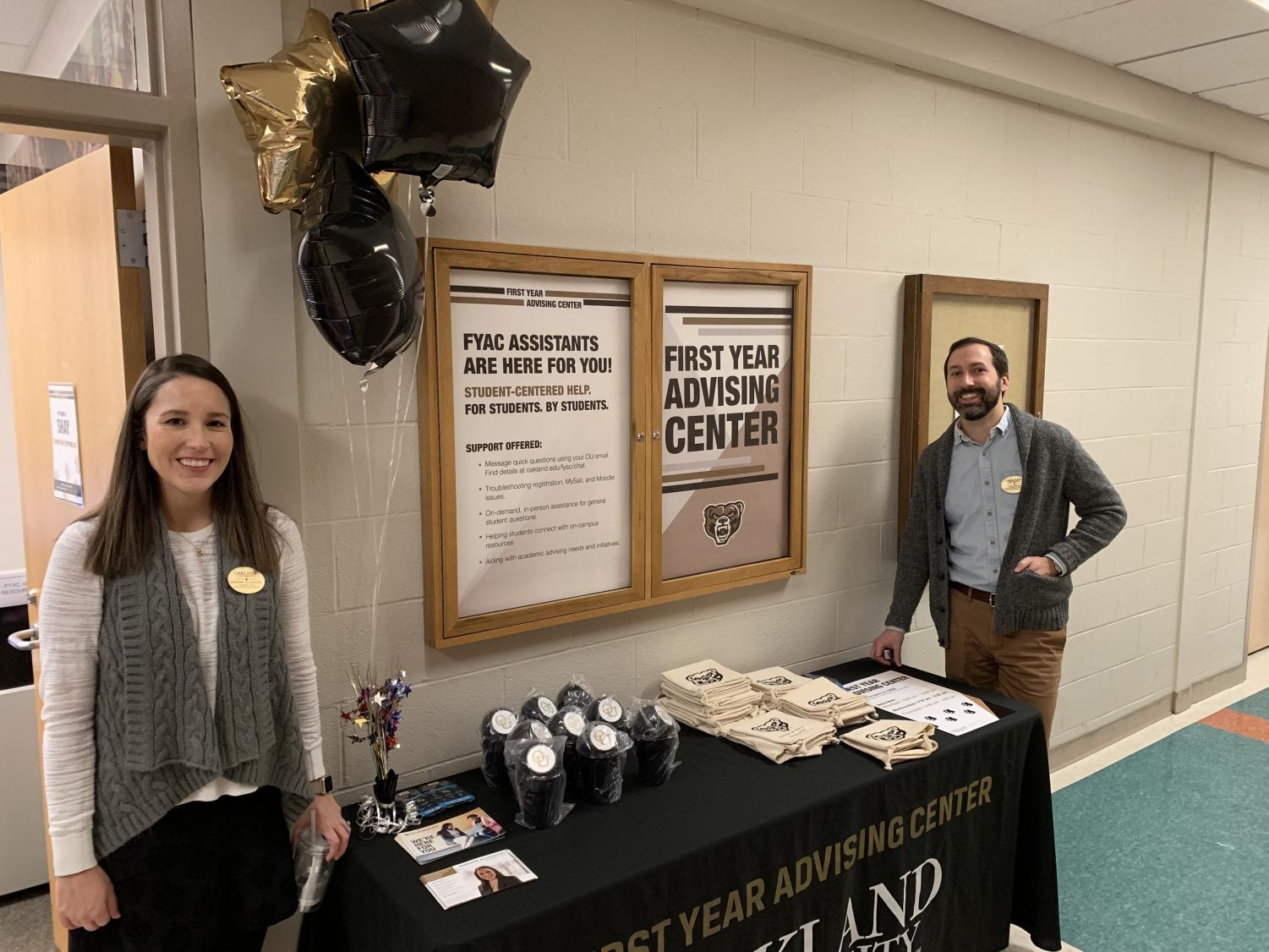 Oakland's First Year Advising Center was selected as the 2019 winner of the Outstanding Institutional Advising Program Award.