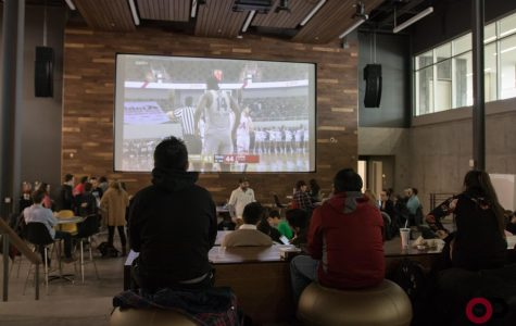 Grizz Gang hosts watch party for Men's Basketball road game