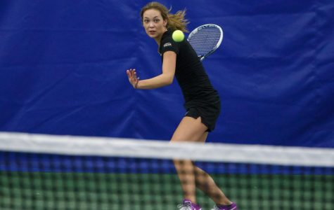 All-Academic tennis captain balances sports and academics