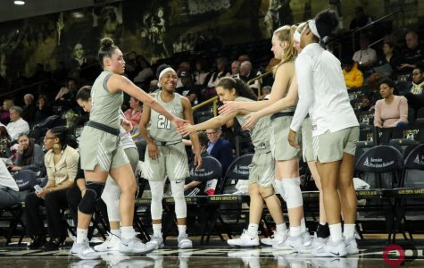Women's basketball loses on senior night, 73-64