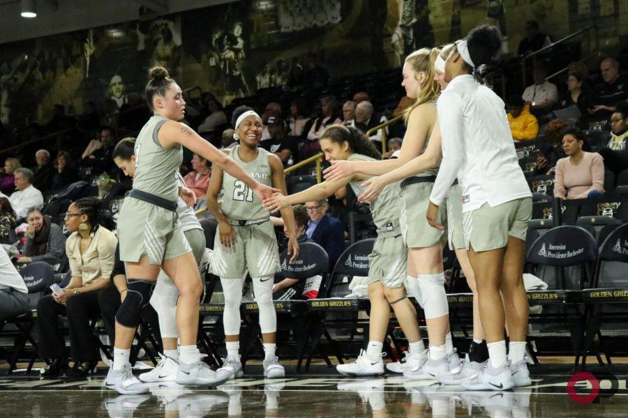 Women's basketball loses on senior night, 73-64