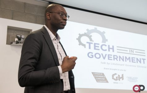 Lt. Gov. Gilchrist talks technology