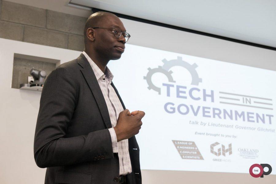 Lt. Gov. Gilchrist talks technology