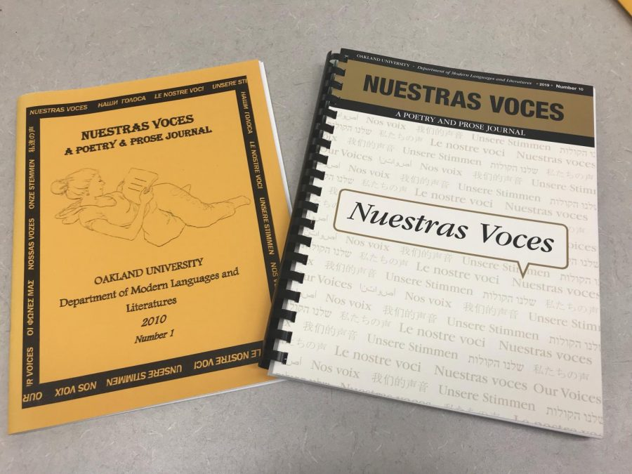 Literary Night to celebrate 10th year publishing students foreign language pieces in 'Nuestras Voces' journal