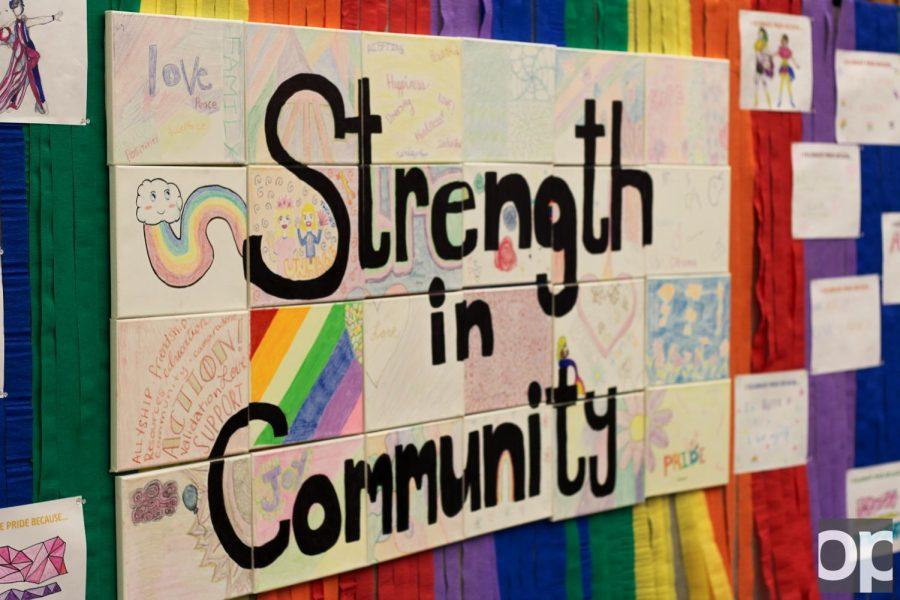 Campus+celebrates+diversity+with+Pride+Month
