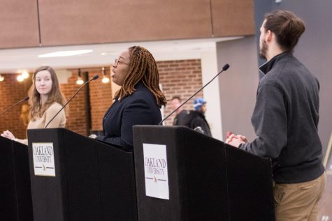 Student Congress president candidates discuss diversity, representing students, parking issues