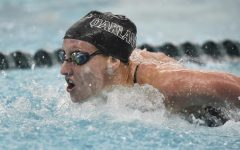 Freshman swimmer making waves