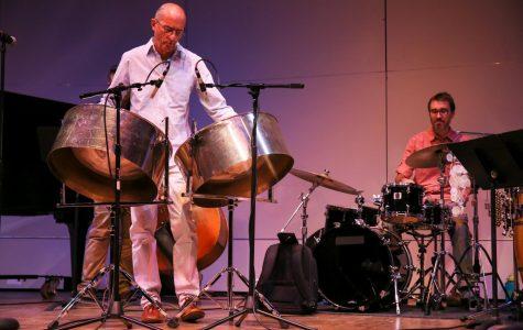 Steel drum artist Andy Narell sets standards, inspires musicians
