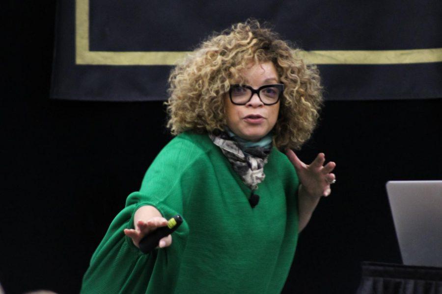 Oscar-winning+costume+designer+Ruth+Carter+talks+%E2%80%98Black+Panther%2C%E2%80%99+importance+of+representation+during+campus+visit