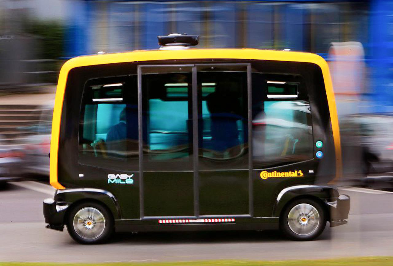 Oakland University will partner with EasyMile, Continental and the city of Auburn Hills to host an autonomous shuttle on campus. The self-driving bus will run for six months.