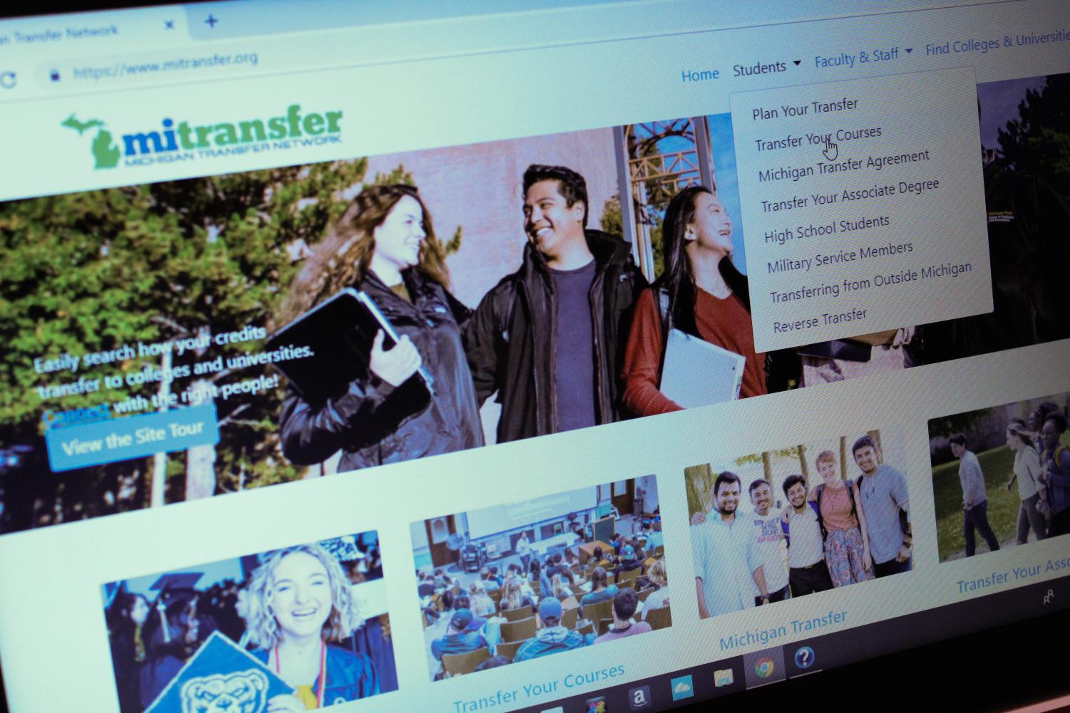 Mitransfer.org will be supplemented with a future OU transfer student tool on the school's website.