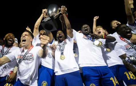 Three Oakland University soccer players win a national championship with the Flint City Bucks of the USL League 2.