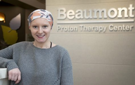 After being diagnosed with brain cancer in May 2018, Megan Ritz is now in remission and returning to campus to continue her education.