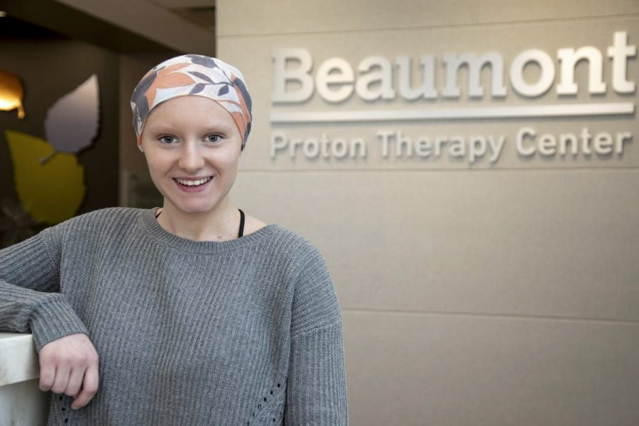 After+being+diagnosed+with+brain+cancer+in+May+2018%2C+Megan+Ritz+is+now+in+remission+and+returning+to+campus+to+continue+her+education.%0A