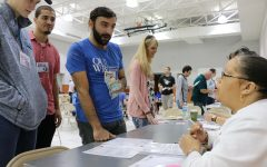 School of medicine students participate in poverty simulation