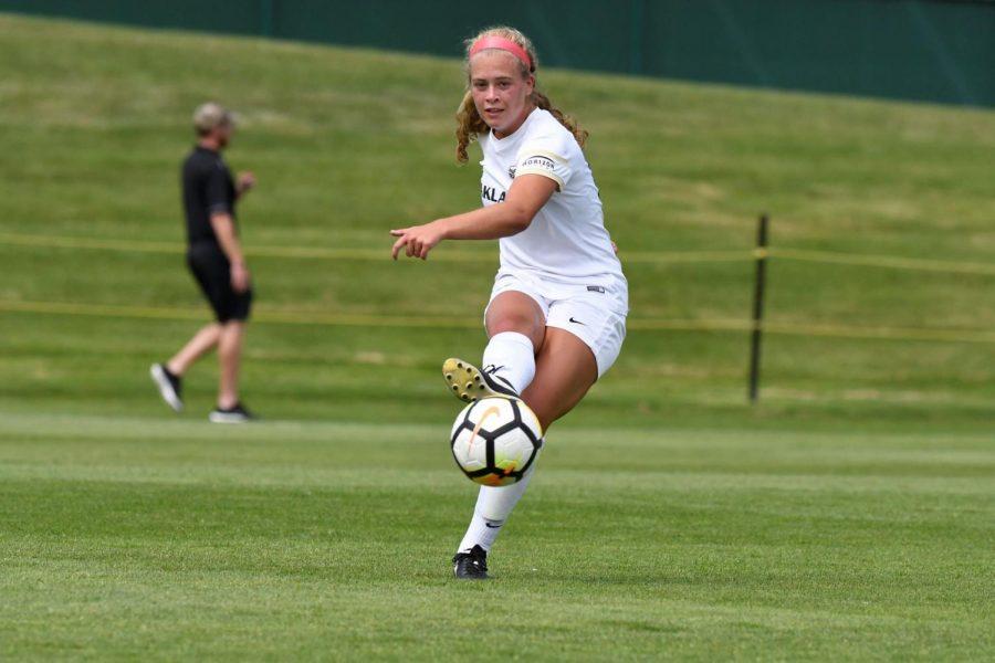 Women's soccer leader enters senior season