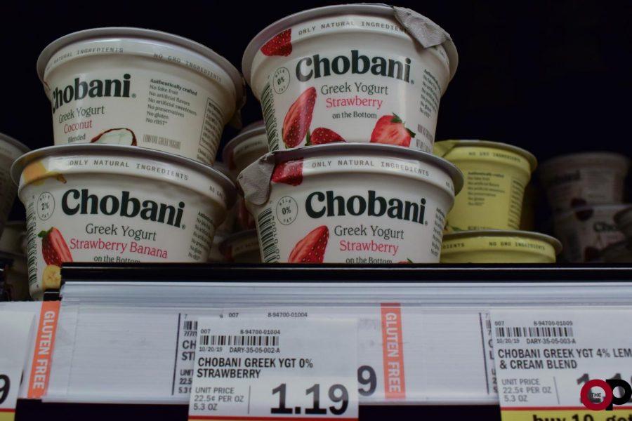 Chobani Greek yogurt prices at Meijer.