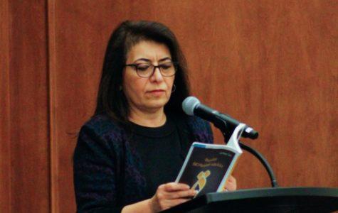 Iraqi professor shares poetry of immigrant past