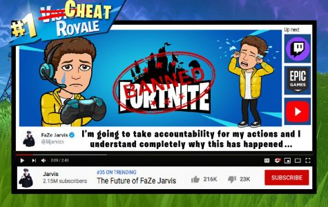 FAZE Jarvis has been accused of cheating in Fortnite and banned by Epic Games.