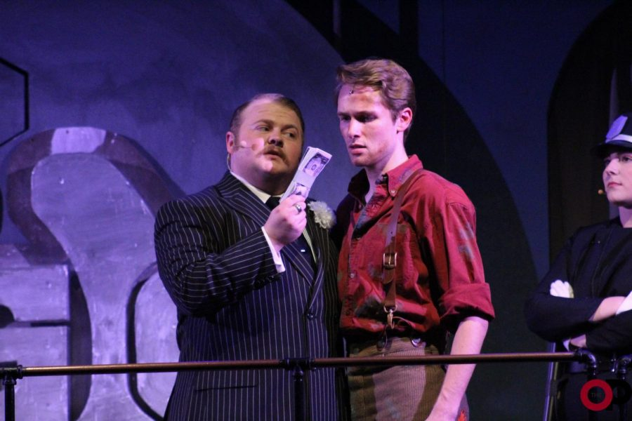 Caldwell B. Cladwell tries to bribe Bobby.