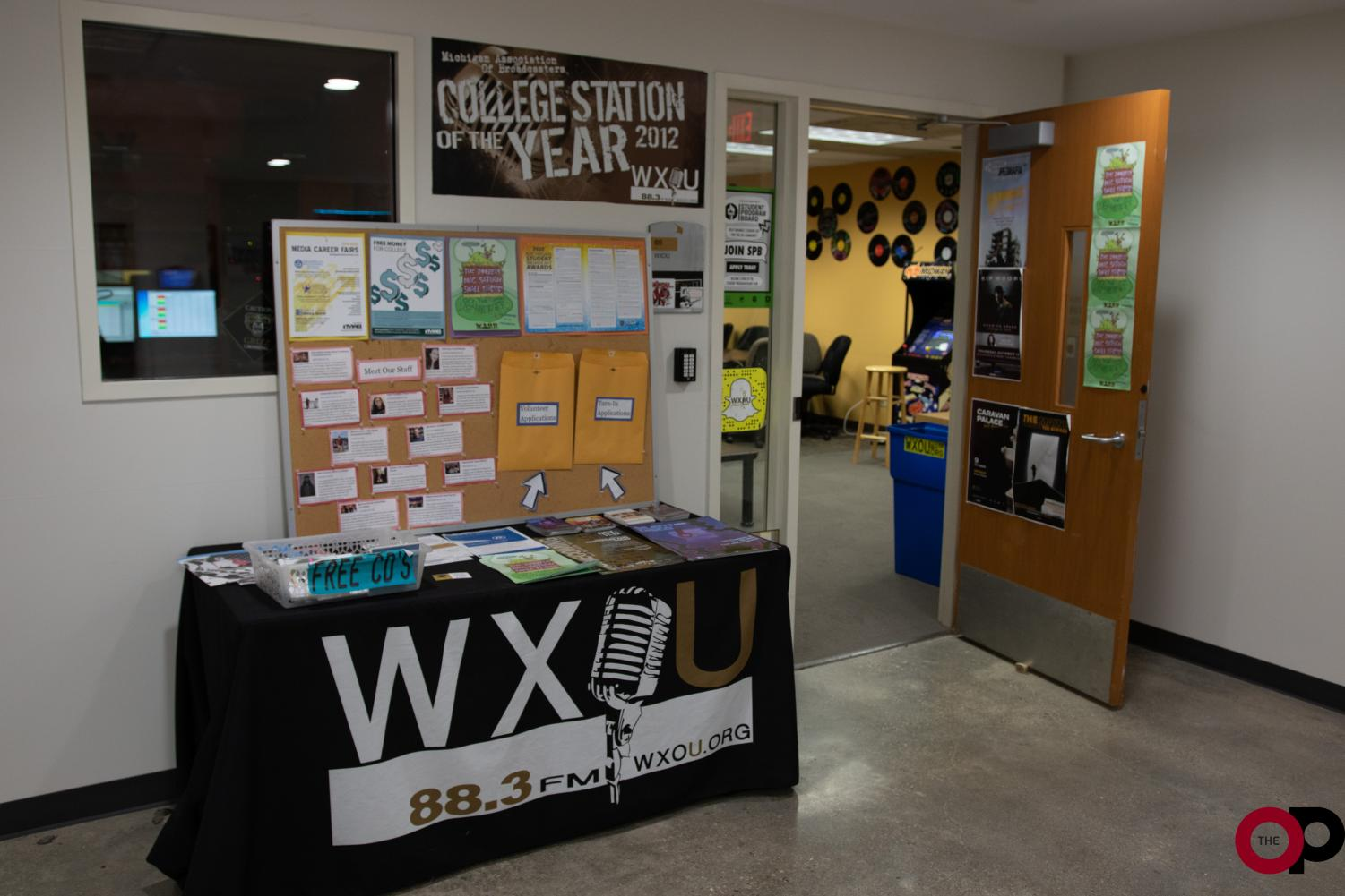 Students must fill out an application form for WXOU to consider hosting their radio show.