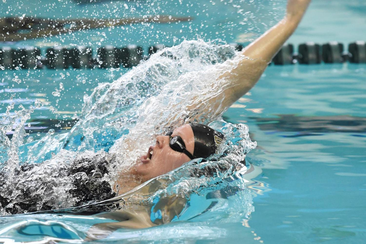 Senior Katie Colwell was named Horizon League Swimmer of the Week.
