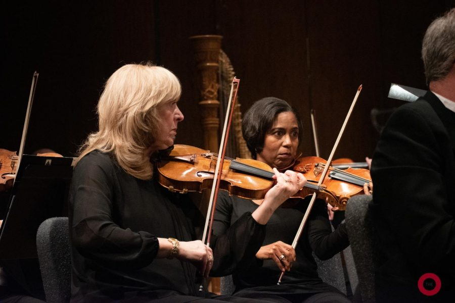 The Oakland Symphony Orchestra performs in the Varner Recital Hall on Saturday, Nov. 2.