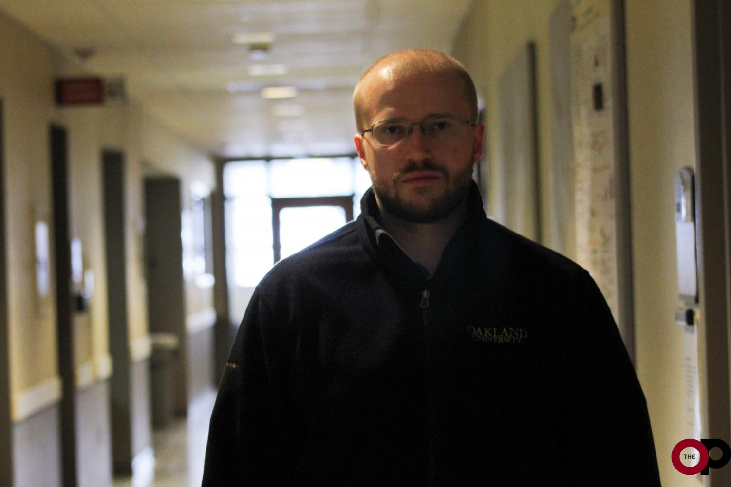 Dr. Alexander Rusakov, assistant professor of chemistry, just started his career at OU this semester.