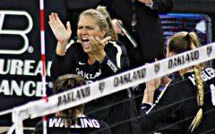 Volleyball loses 3-1 on senior night