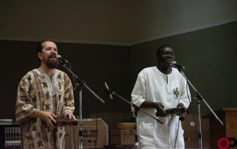 Ugandan performer shares culture with campus and community