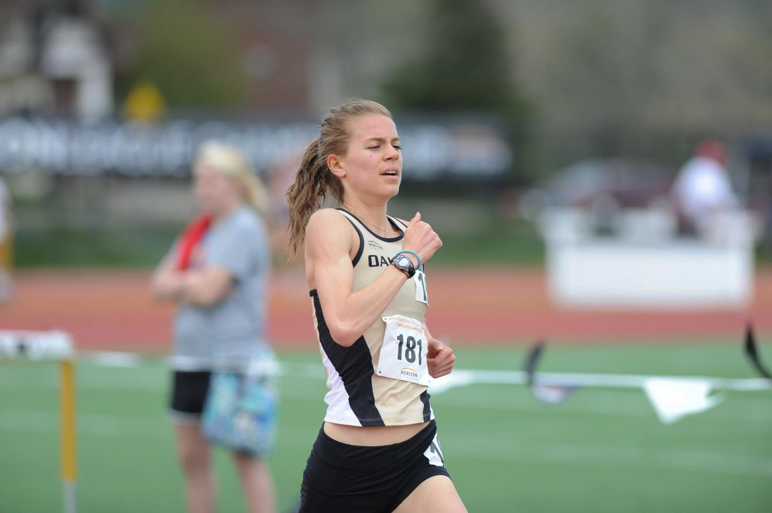 Cross country runner Maggie Schneider represented Oakland University at the NCAA National Championships in Terre Haute, Indiana.