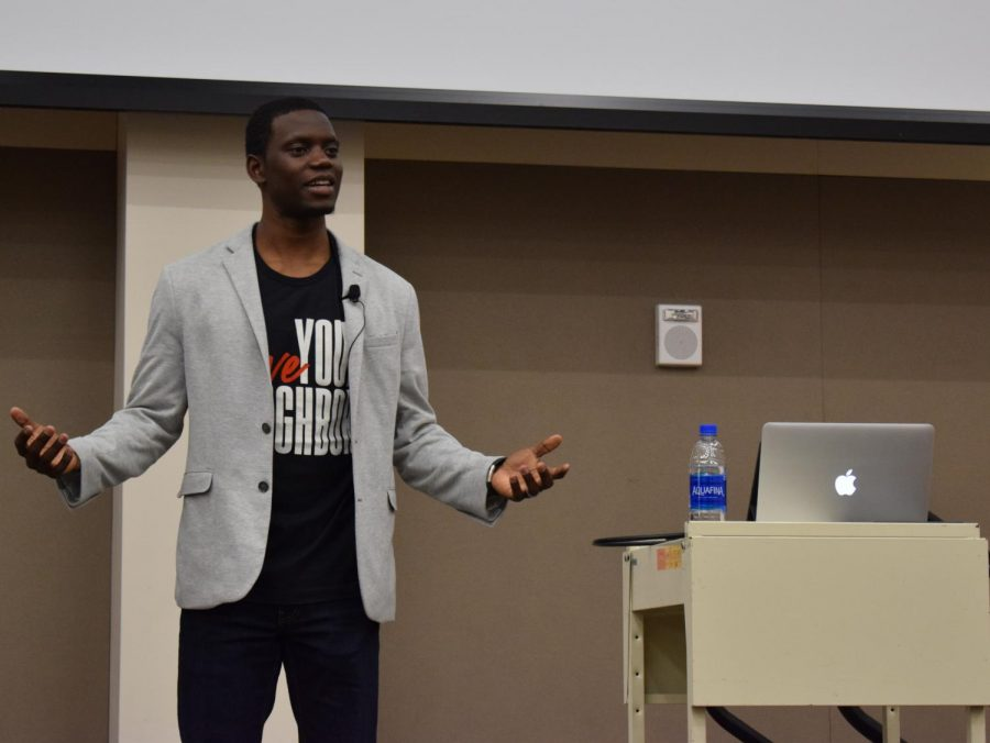 Chris Singleton discusses racism and love.