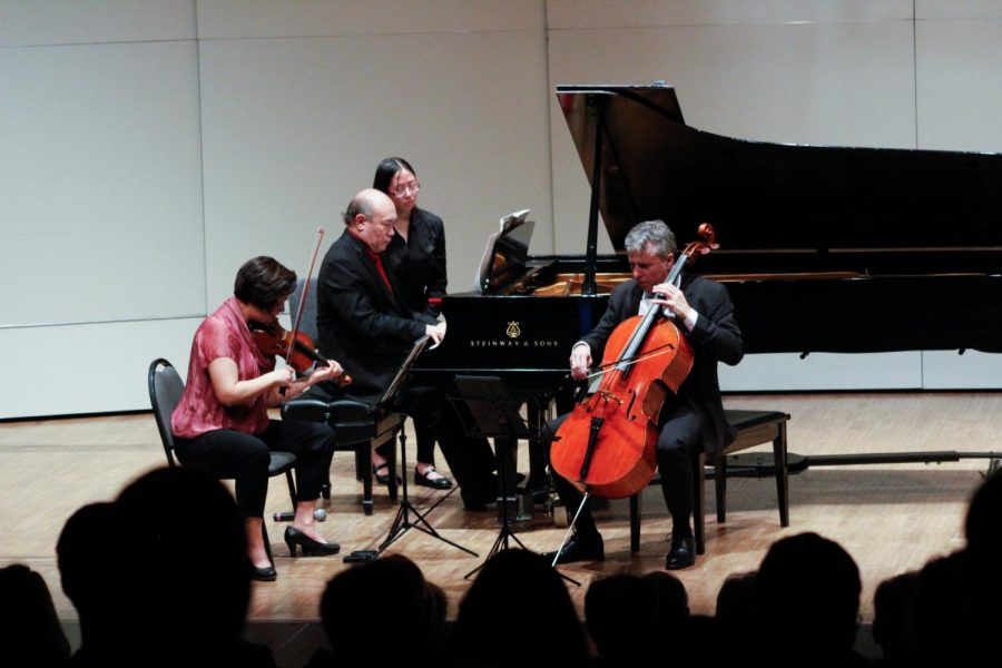 "The Gryphon Trio performs its ""all-Beethoven"" program on Sunday, Jan. 26 in Varner Recital Hall."