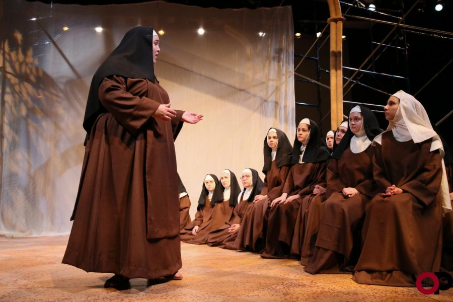 Dialogues of the Carmelites follows the story of a Carmelite nun during the French Revolution. The opera runs Jan. 16-19 in Varner Recital Hall.