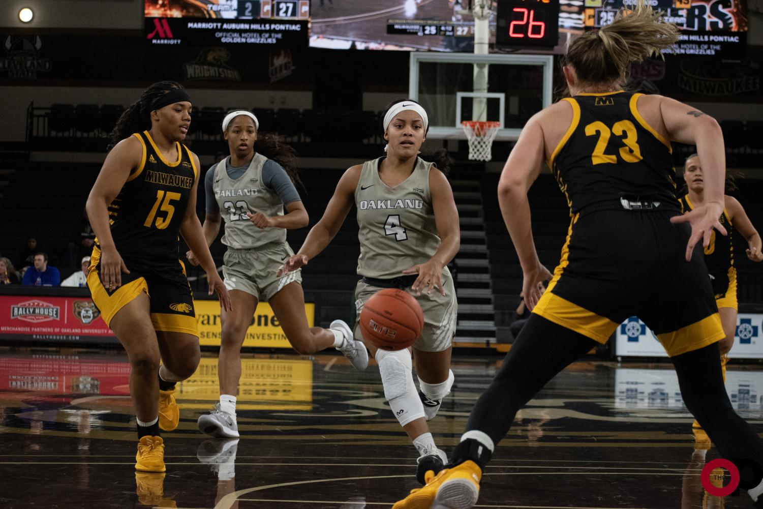 The Golden Grizzlies achieve a 78-62 victory over Milwaukee on Saturday, Jan. 11.