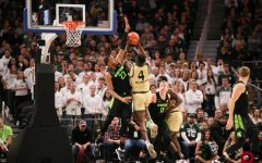 Oakland falls 72-49 to Michigan State Spartans in Detroit