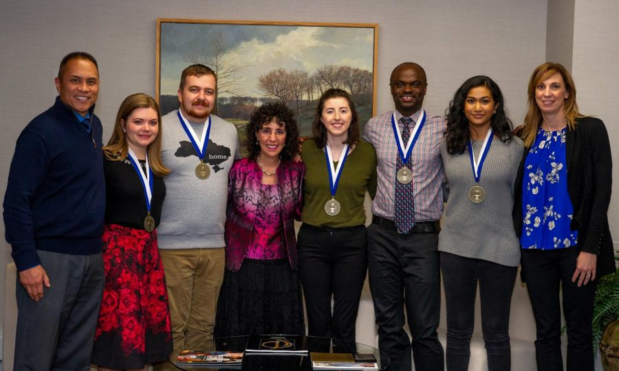 Oakland students receive Superior Presentation awards at the Sigma Xi conference.